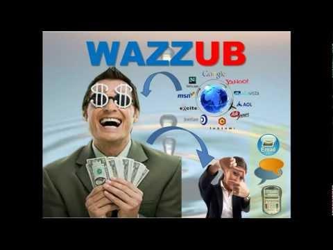 """Gana Dinero de por vida sin invertir.Wazzub """"el poder de nosotros"""" en español."""