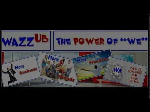 WAZZUB promocional Espana Latino video oficial
