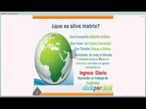 Presentacion breve alivematrix