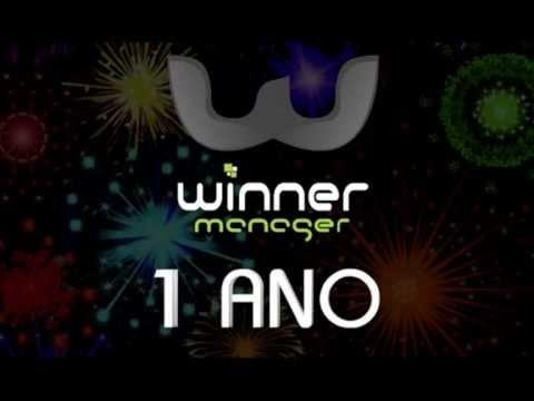 Winner Manager  Aniversário de 1 ano no Brasil