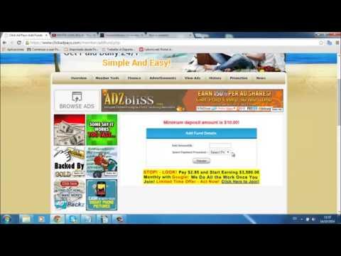 Gana dinero con Clickadpays tutorial parte 1