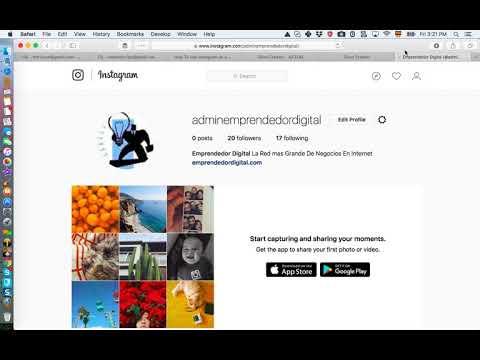 Cómo subir fotos a Instagram desde tu Mac
