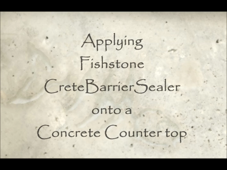 How to Apply CreteBarrier Video