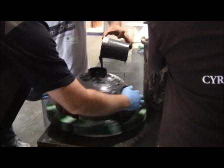 Spinning Vessel Mold