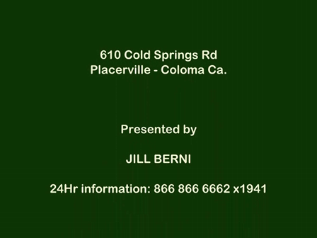 610 Cold Springs Rd El Dorado County