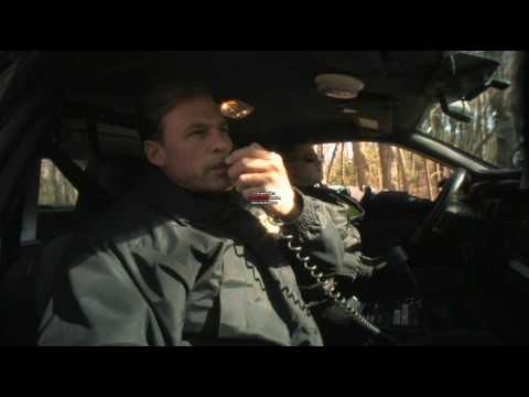 Jeff Corazzini playing police officer