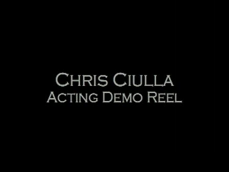 Chris Ciulla Acting Reel 7-19-10