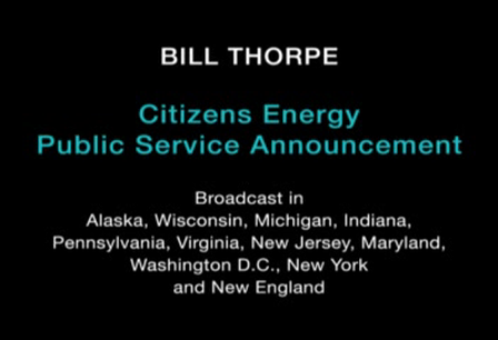 Bill Thorpe - PSA #1