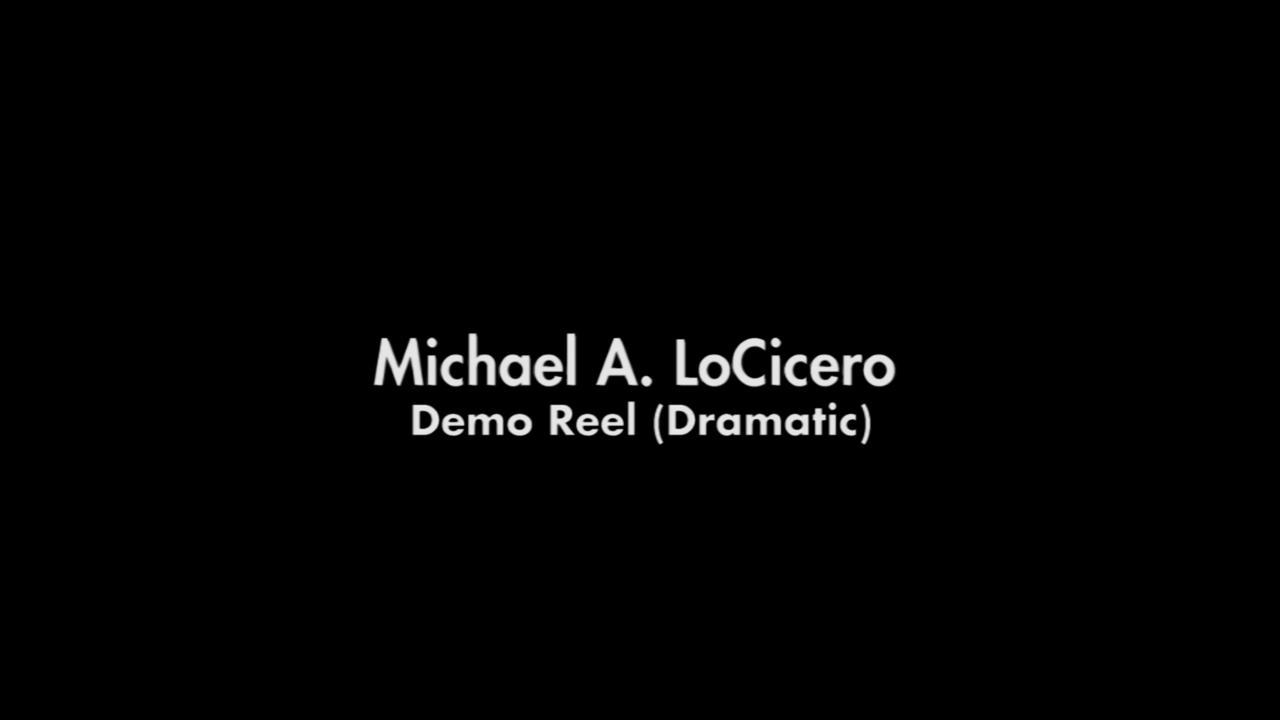Demo Reel (Dramatic) - 2012