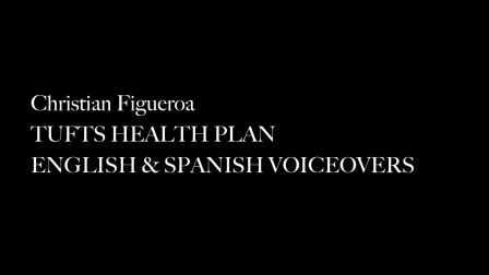 Christian Figueroa - Tufts Health Plan Voiceovers - ENGLISH & SPANISH