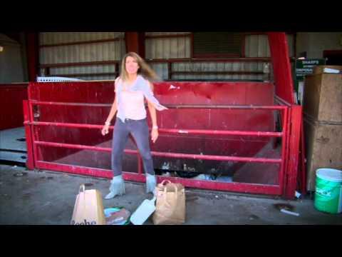 Hostess/ Spokeswoman 45 second demo