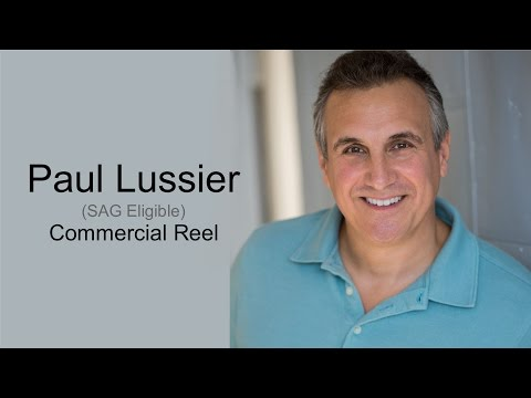 Paul Lussier Commercial Reel