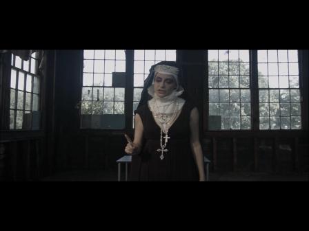 DRAMATIC CLIP, HORROR: Witch Hunt-Evil-Nun-Lynn Julian-Boston-Actress