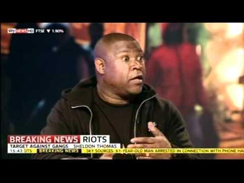 UK Riots 2011: Sheldon Thomas (Target Against Gangs) /  Gavin McKenna (Ex-Gang Member)