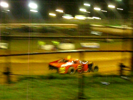 Stock cars at Archerfield Raceway, Brisbane