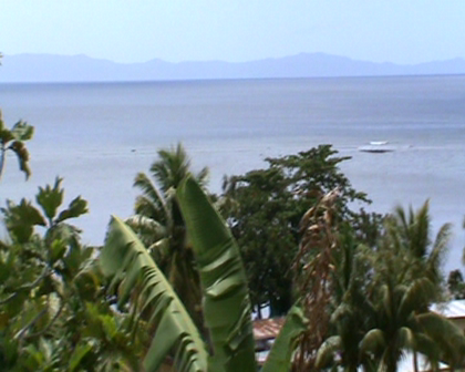 Watching for tsunami wave on Rabi during recent tsunami warning