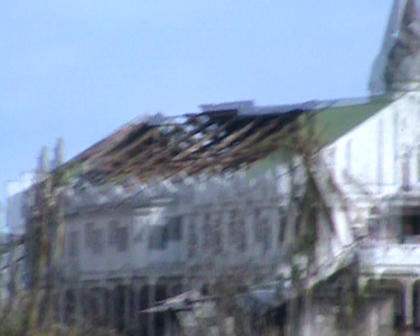 Buakonikai Methodist Church Rabi Island devasated Cyclone Tomas