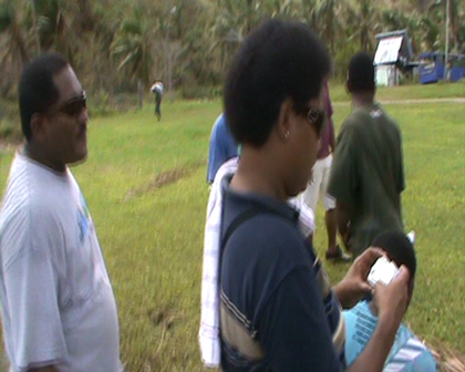 Interview Fiji Agriculture Offical states 90-100% food crops destroyed Rabi from Cyclone Tomas