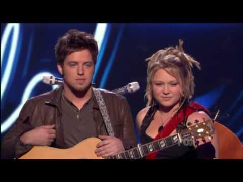 """Crystal & Lee - """"Falling Slowly"""" in American Idol Top 4"""