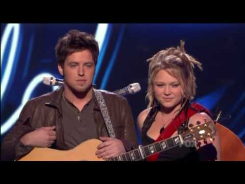 "Crystal & Lee - ""Falling Slowly"" in American Idol Top 4"