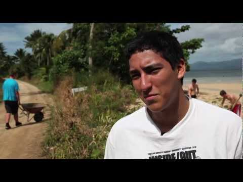 Jabez Humanitarian Foundation - Rabi Island Welcoming 2012