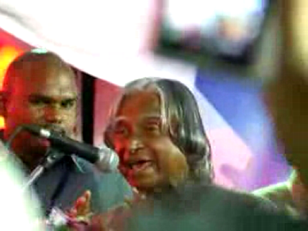 Abdul Kalam - Speech in Hyderabad