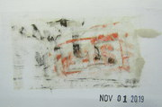 Mail art by Jim Leftwich (Virginia, USA?)