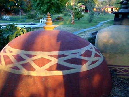 Prehispanic Steem Bath, Rooms, Temple, Gardens