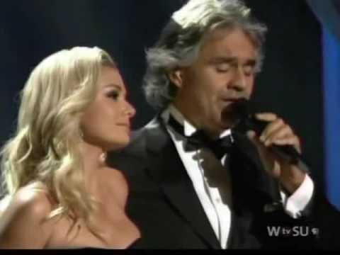 I Believe - Katherine Jenkins & Andrea Bocelli (11/22/2009)