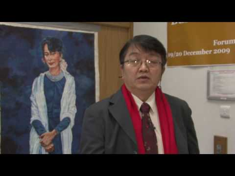 """U Aung Htoo, the General Secretary of Burma Lawyers' Council on """"2008 Constitution"""""""