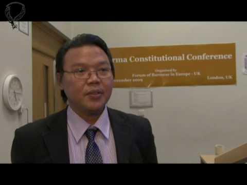 "Myo Thein, the Director of Burma Democratic Concern (BDC) on "" Junta's Sham 2008 Constitution """
