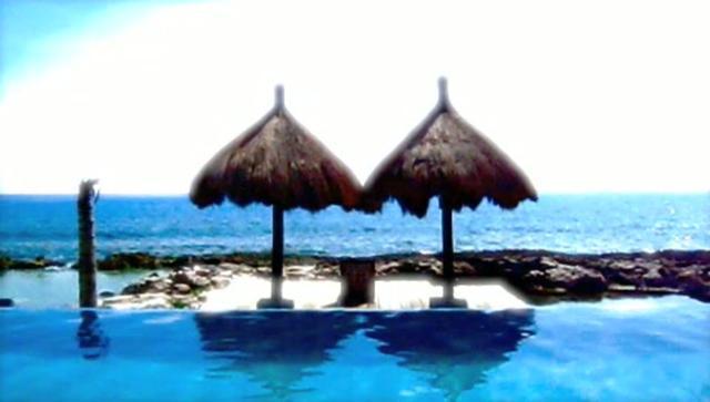 Caribe Swimming Pool Meditation
