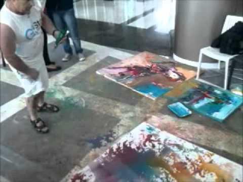 Shefqet Avdush Emini painting
