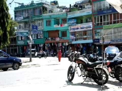 Nepal,Pokhara,street