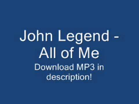 John Legend - All of Me [2013 NEW SONG + LYRICS + MP3] (Album Version)