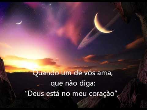 SOBRE O AMOR.... - KHALIL GIBRAN - O PROFETA