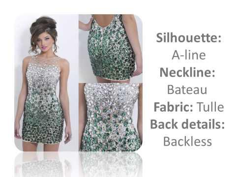 Sexy Green Seuqins Short Cocktail Dress