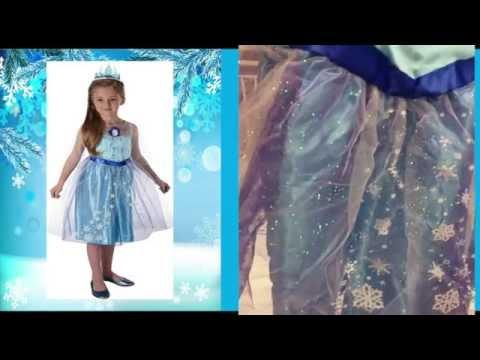 Frozen Princess Elsa Dress Up - Great for Princess Elsa Costumes!