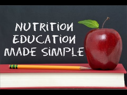 Nutrition Education Made Simple with Trainer Marcelo. www.TrainerMarcelo.com