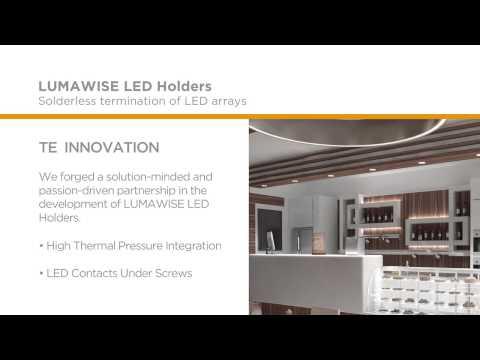 TE Connectivity Lumawise LED Holders