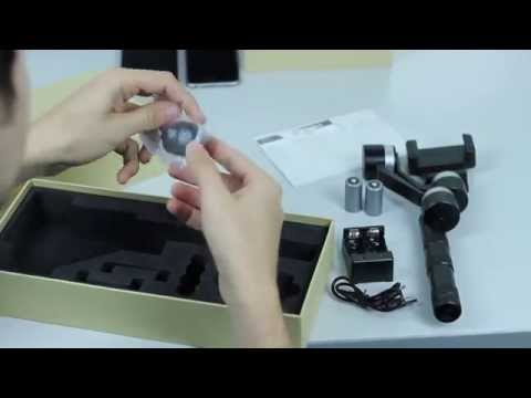 KumbaCam SmartPhone Stabilizer Unboxing - Universal Cell Phone Gimbal