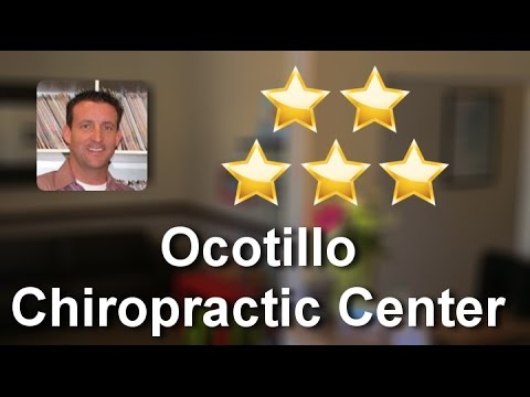 Ocotillo Chiropractic Center ChandlerGreatFive Star Review by Kristin U.