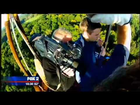 FOX-2 Meteorologist Derek Kevra takes a Hot Air Balloon Ride with Scott Lorenz