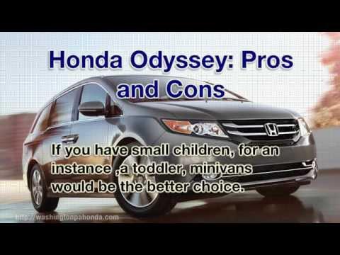 Should You Own a Honda Odyssey Minivan, or a Honda CR-V?