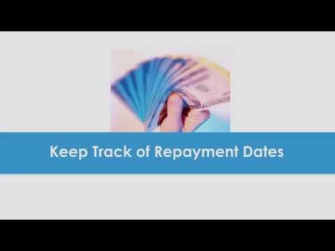 Keep track of repayment dates - Paydayloansonline.net