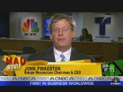 Range Resources CEO, John Pinkerton