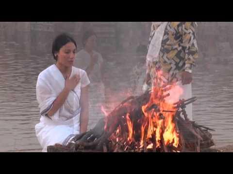 Freedom Puja with doña Esra in Varanasi India