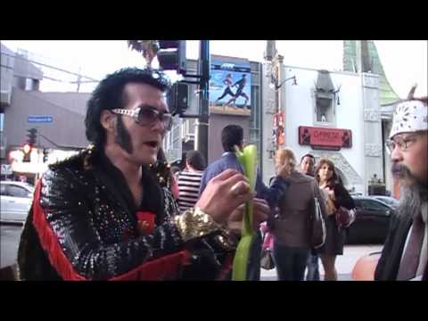 Elvis of HOLLYWOOD promotes The Zale Map