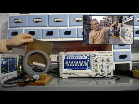 High-Frequency Magnetic Field Shielding Demonstration