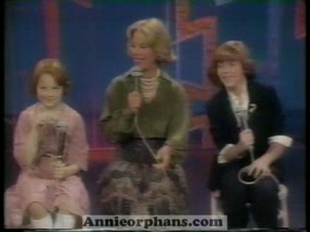 Dinah Shore Show - Andrea McArdle and Patty Patts sing Tomorrow